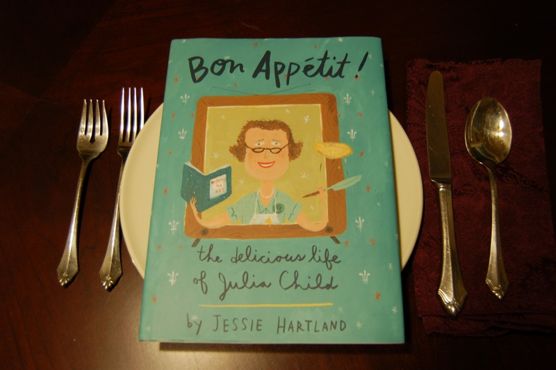 "Bon Appétit! New children's book chronicles ""Delicious Life of Julia Child"""
