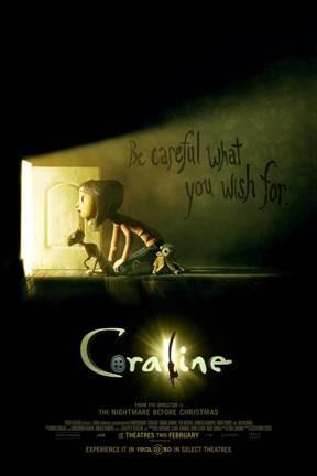 'Coraline': Artistic genius in animated kids' horror film