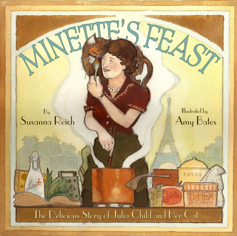 'Minette's Feast' by Susanna Reich: New children's book celebrates Julia Child and her cat