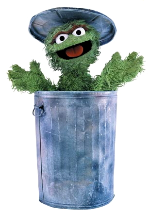 "Your newly elected ""SESAME STREET"" character for President of the United States is…Oscar the Grouch!"