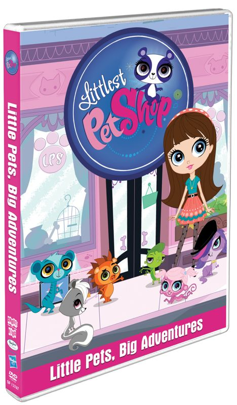 LITTLEST PET SHOP animated series now on DVD: Review & giveaway coming soon to Reel Mama!
