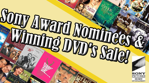 Check out the Sony Award Nominees and Winning DVDs Sale from Mommy Bear Media!