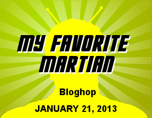 My Favorite Martian Blog Hop