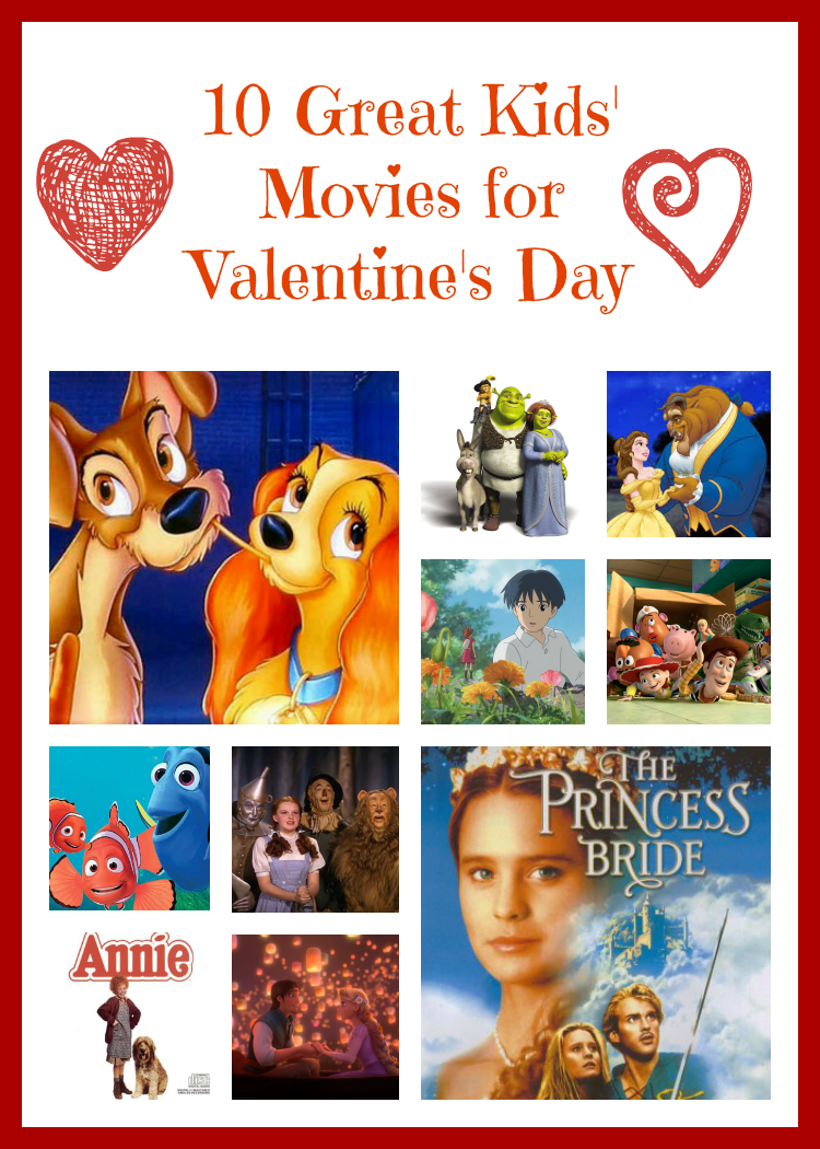 10 great Valentine's Day movies for kids