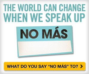 No Más, No the Movie, Create your own No Más badge