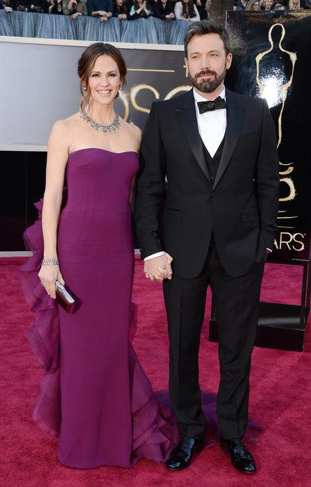 Ben Affleck and Jennifer Garner at Oscars 2013