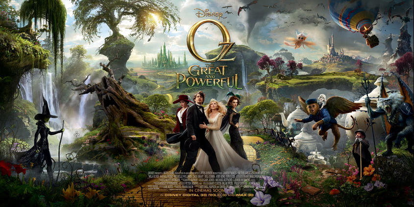OZ THE GREAT AND POWERFUL sneak preview