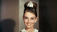 hollywood hairstyles, gorgeous hollywood hair, hot hollywood styles, celebrity hairstyles, movie star hairstyles, red carpet hairstyles, glamorous hairstyles, iconic hollywood hairstyles, Audrey Hepburn, Breakfast at Tiffany's