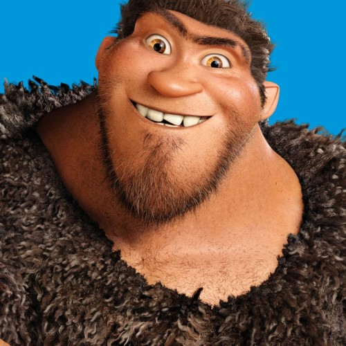 Grug from THE CROODS, the croods review, the croods movie