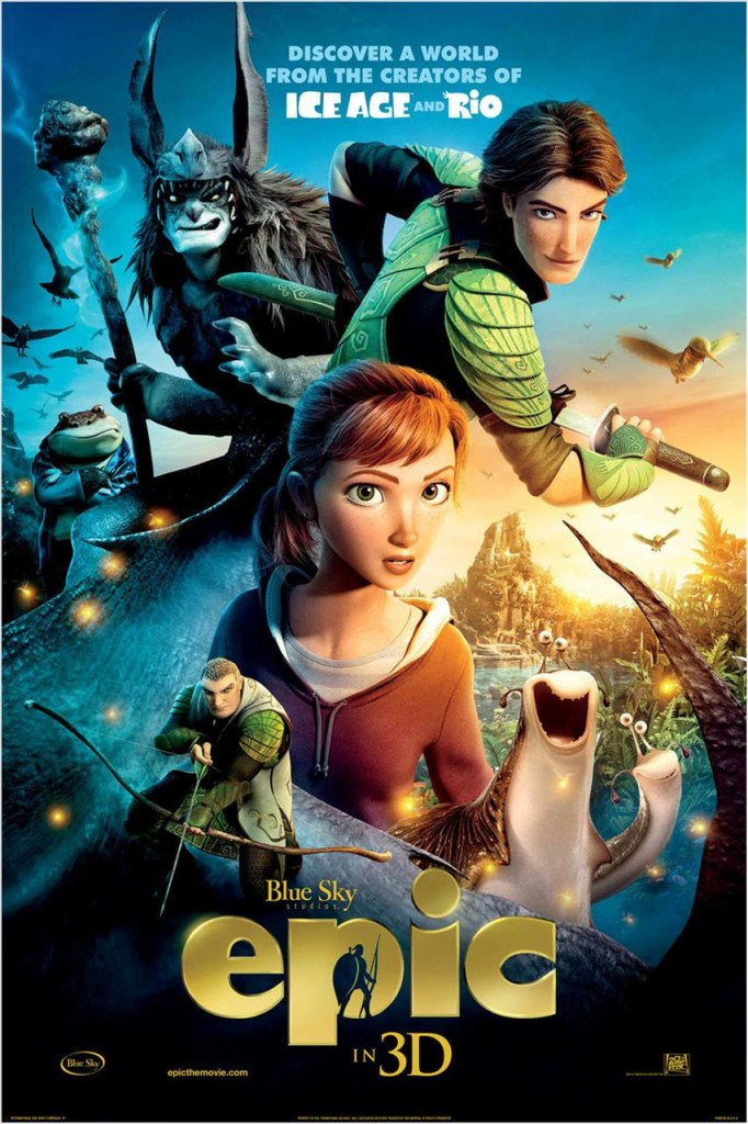 animated movie epic movie poster, epic the movie 2013, epic amanda seyfried, epic christoph waltz, epic beyonce knowles, epic slideshow, epic Jason Sudeikis, leaf men movie, The Leaf Men and the Brave Good Bugs, epic William Joyce