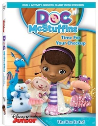doc mcstuffins time for your checkup song, doc mcstuffins time for your checkup dvd, doc mcstuffins, doc mcstuffins disney junior, doc mcstuffins new show