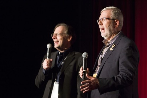 Jerry Beck, Leonard Maltin, TCM Classic Film Festival 2013, Bugs Bunny movie screening, Saturday morning cartoons