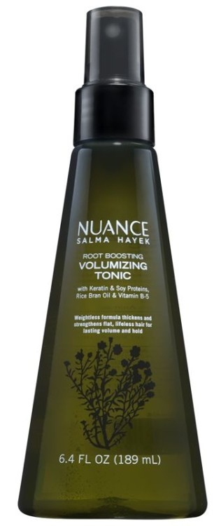 Nuance Salma Hayek CVS Volumizing Tonic, beauty giveaway, win beauty products, beauty giveaways, salma hayek nuance products, salma hayek beauty products, salma hayek beauty secrets, salma hayek cvs makeup, cvs salma hayek, salma hayek beauty line