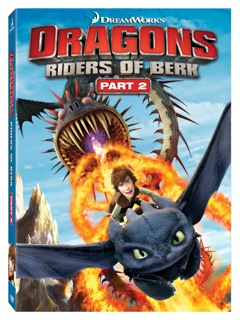 Dragons Riders of Berk DVD Part 2