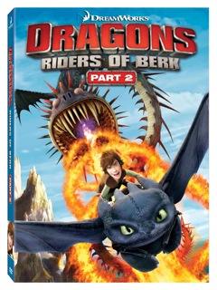 Dragons Riders of Berk DVD Part 2