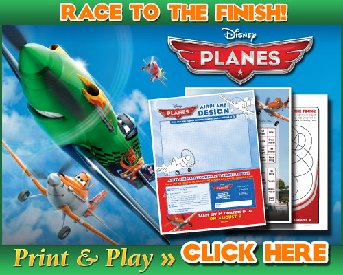 Disney Planes free activity sheets for summer fun #DisneyPlanes