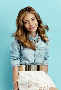 Disney star G Hannelius, the voice of Disney Super Buddies Rosebud, is also the lead in Dog with a Blog. Photo: IMDB