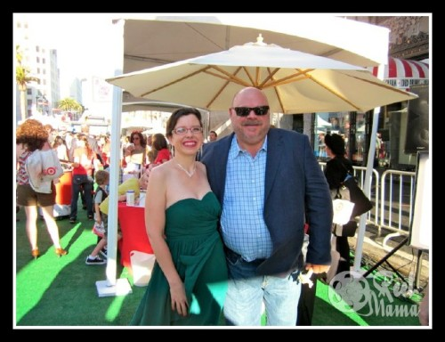 Lauren Ivy Chiong with Kevin Chamberlin