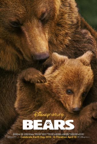 Disneynature Bears movie poster releasing Earth Day 2014