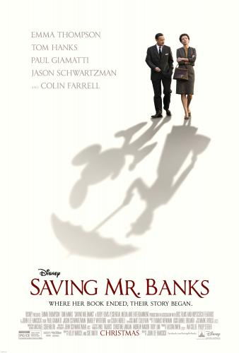 Saving Mr Banks movie poster ~ A not so Wordless Wednesday