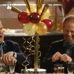 Cam (Eric Stonestreet) and Mitchell (Jesse Tyler Ferguson) are a gay couple who adopt a daughter on Modern Family.