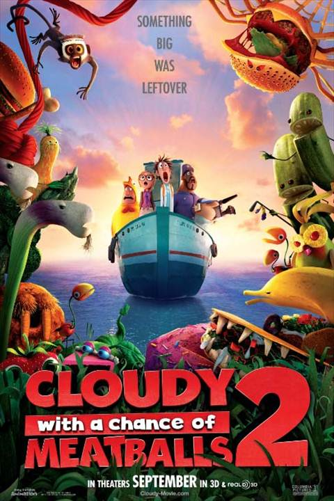 Cloudy with a Chance of Meatballs 2 mini review: Fun in the forecast!