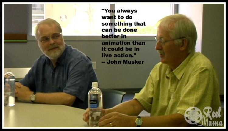 John Musker and Ron Clements discuss the making of The Little Mermaid and their experiences as writers and directors for Disney animated films.