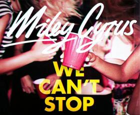 Miley Cyrus Album Cover for new album We Can't Stop