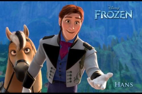 Prince Hans (the voice of Santino Fontanta) in Disney Frozen