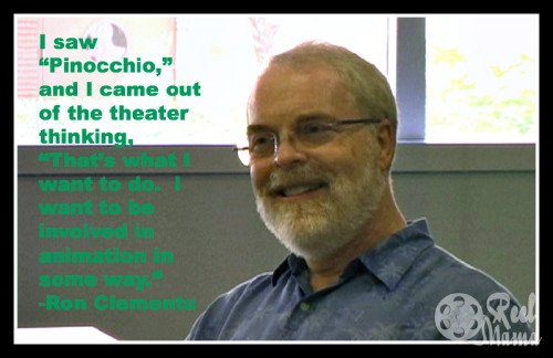 Ron Clements Quote