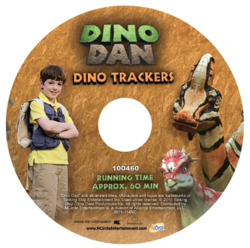Dino Trackers is Disk 1 in the Dino Dan DVD 4 pack.  Each DVD includes multiple episodes, and each disk has a total running time of 20 minutes.