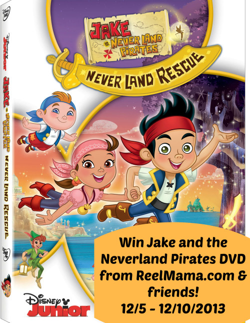 Jake and the Never Land Pirates Giveaway Button