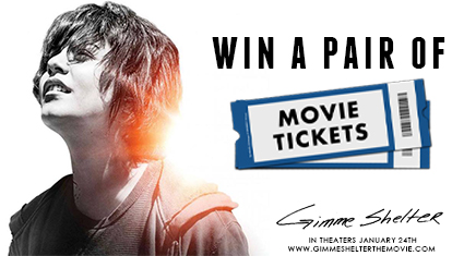 OVER: Movie tickets giveaway ~ Vanessa Hudgens Gimme Shelter movie