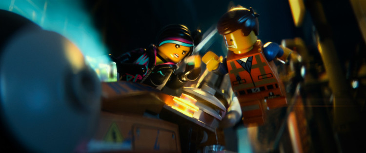 Wildstyle and Emmet in Lego movie