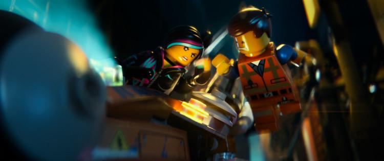 Wildstyle and Emmet in Lego movie
