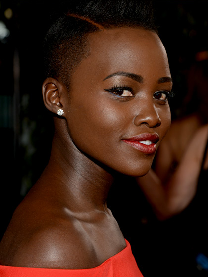 Lupita Nyong'o stars in 12 Years a Slave. She is a Best supporting Actress nominee for the Oscars 2014.