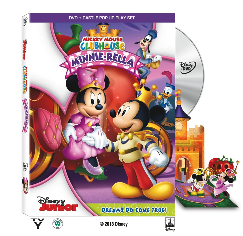 Mickey Mouse Clubhouse Minnie rella review, clips, and activity sheets