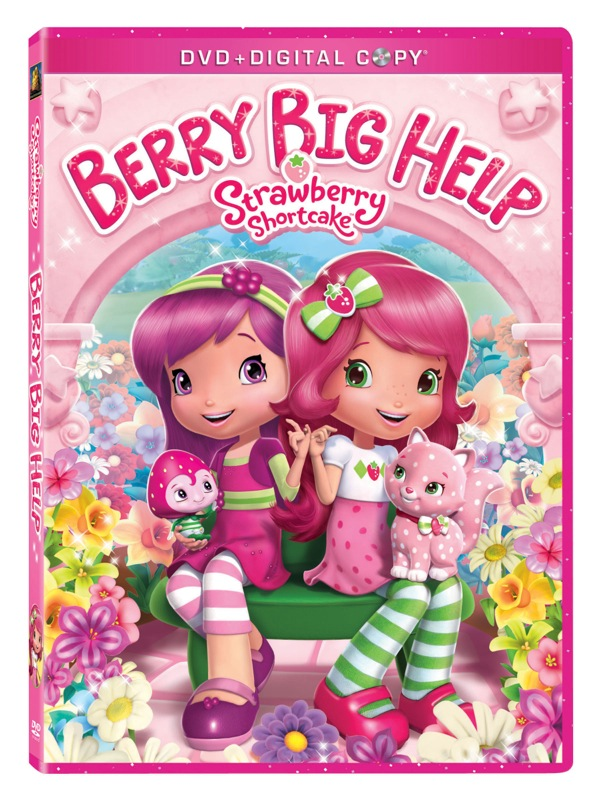 'Strawberry Shortcake Berry Big Help' DVD Review & Activity Sheet!