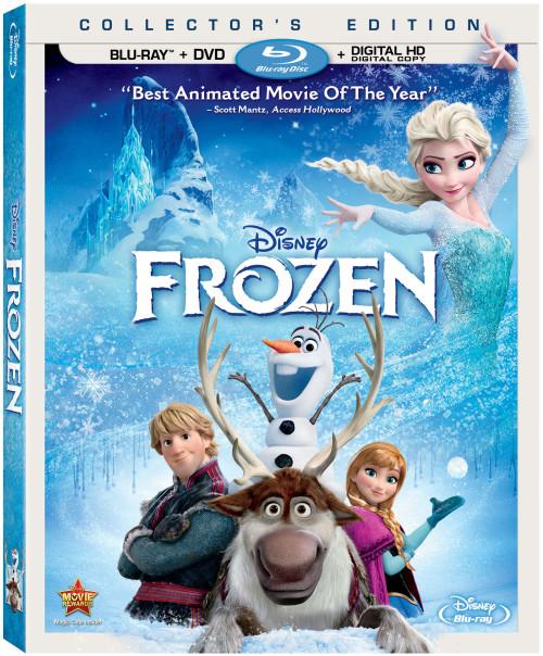 Disney Frozen Blu Ray