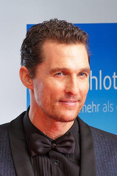 Matthew McConaughey at the awards of the Goldene Kamera 2014 in Berlin. (Photo by Avda / avda-foto.de)