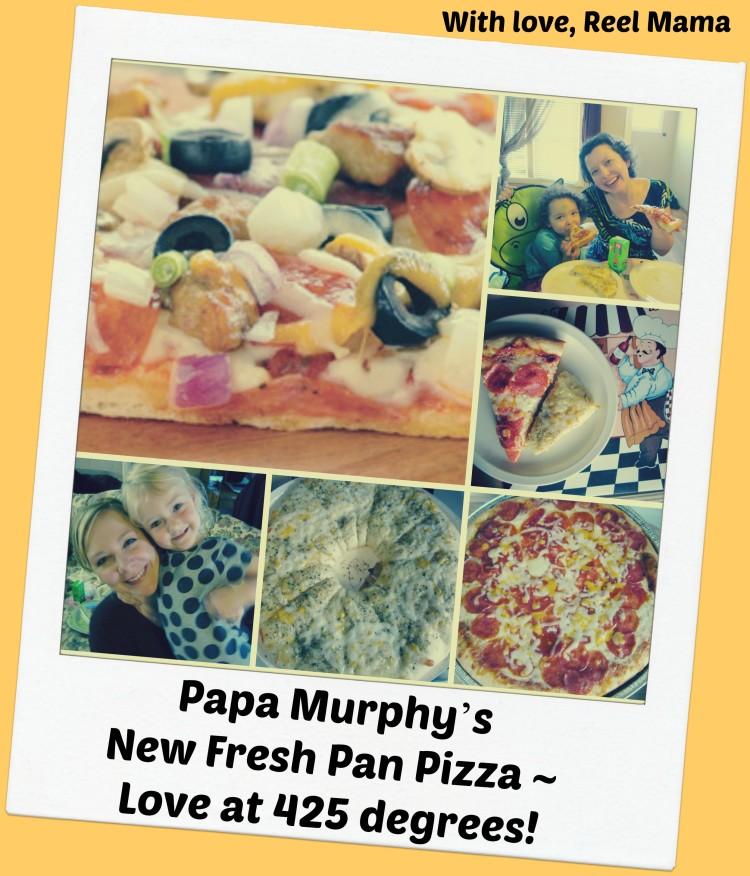 Papa Murphy Pan Pizza Collage