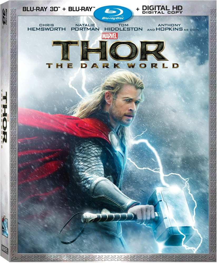 Thor Dark World Blu Ray review, trailer and cool concept art photos!
