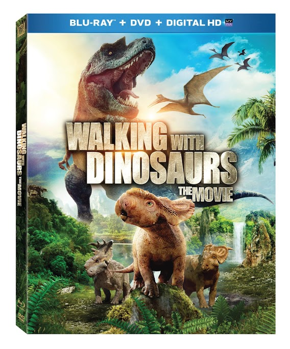 Walking with Dinosaurs Blu-ray Giveaway (US only)