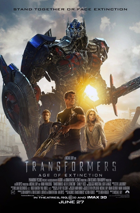 TRANSFORMERS AGE OF EXTINCTION, BEGIN AGAIN sneak peek! New movies in theaters this weekend!