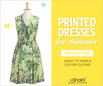 OVER: Win a $25 gift card for eShakti dresses and fashion ~ 2 winners!