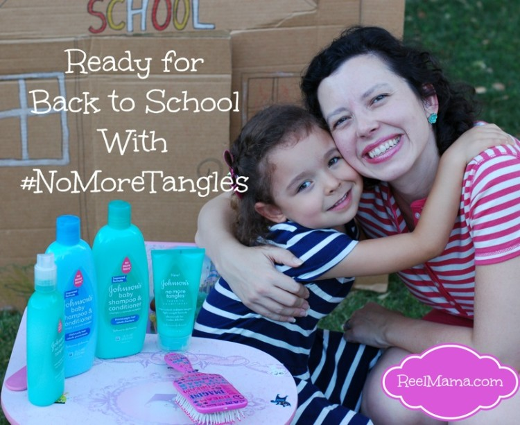 Back to school hair tips with No More Tangles and headband braid tutorial