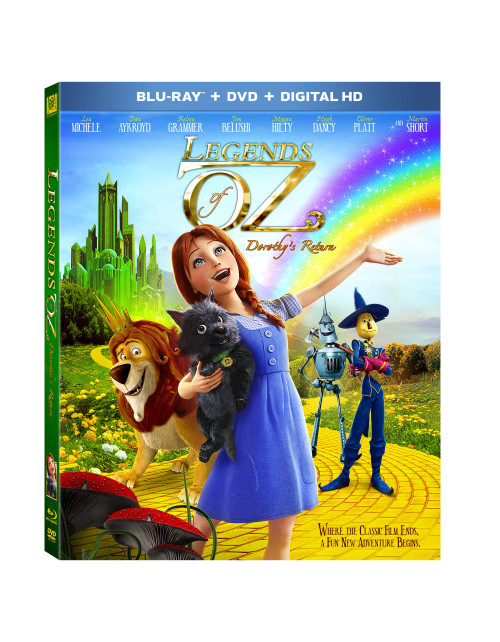 Legends of Oz on Blu Ray