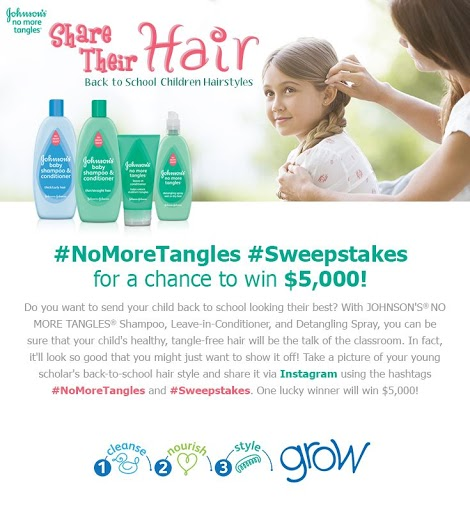 Share the Hair No More Tangles Contest