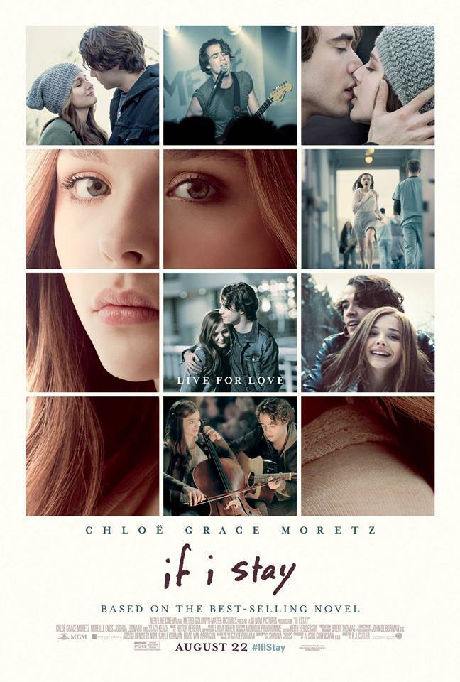 If I Stay, Sin City, and more ~ New movies playing August 22, 2014
