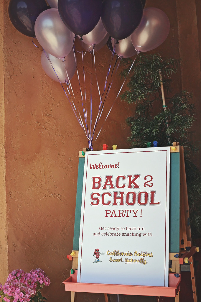 Back to school California Raisins Party Live